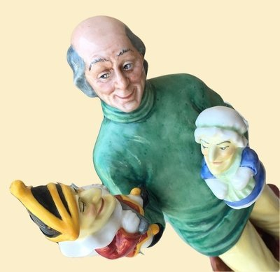 Royal Doulton Punch & Judy Man Figurine Dated 1980