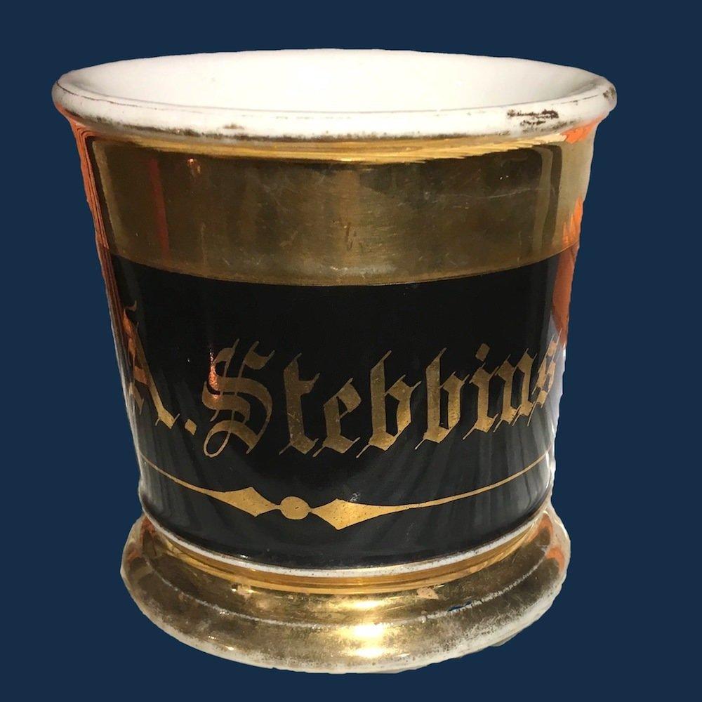 stebbins shavng mug 3 navy