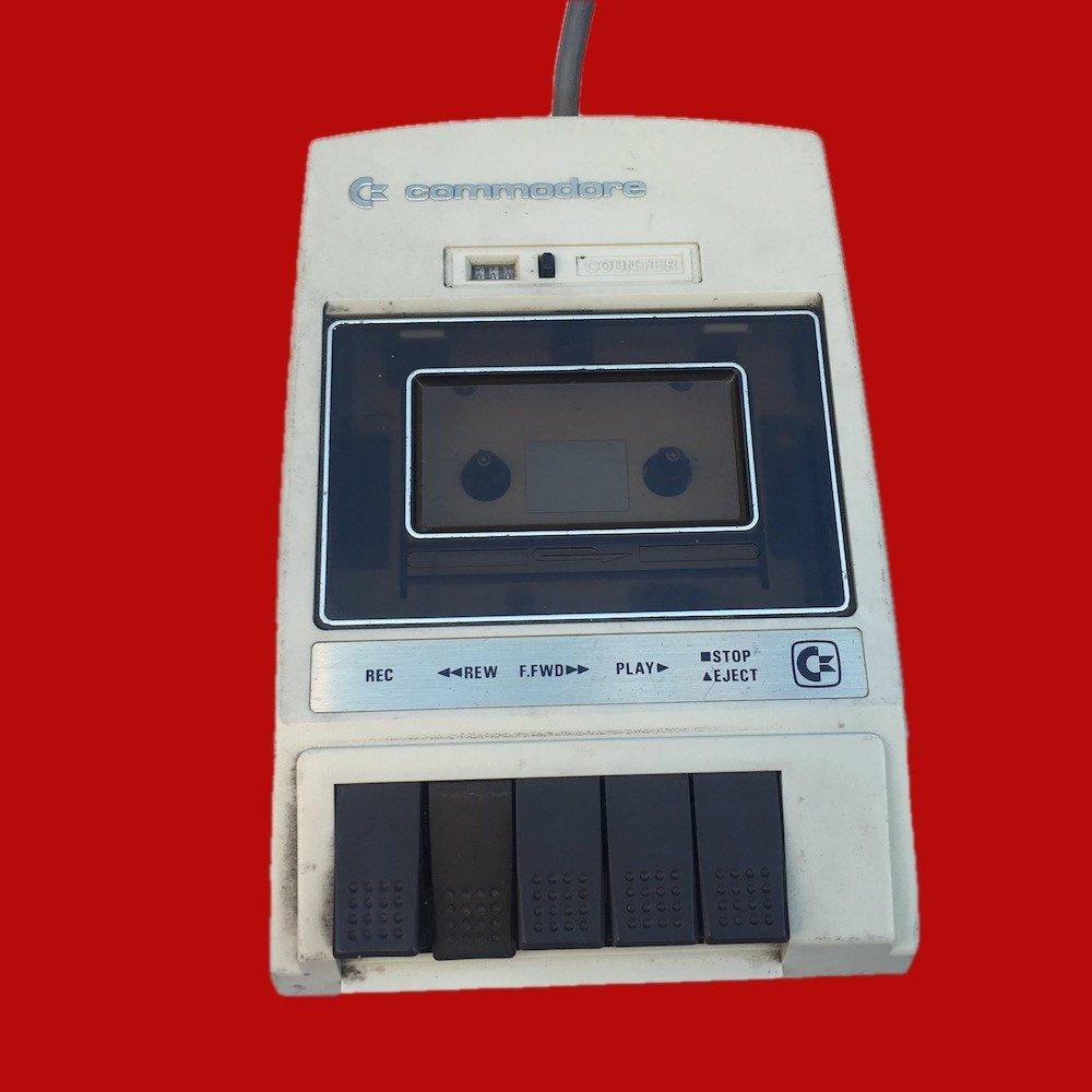 Vintage 1970's Computer Drive C2N Cassette Commodore Datasette 00852