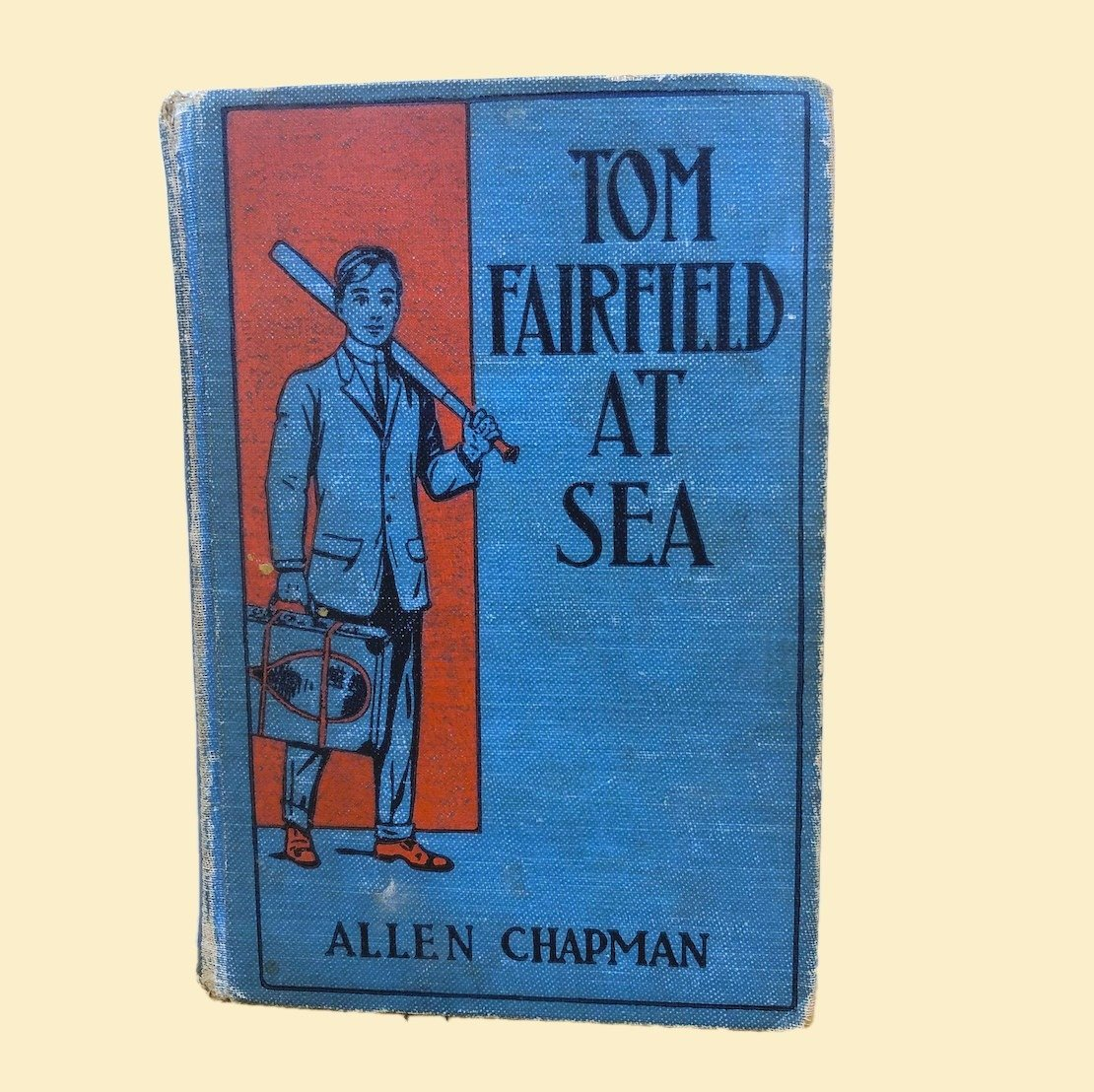 Tom Fairfield at Sea Book  - Allen Chapman 1913