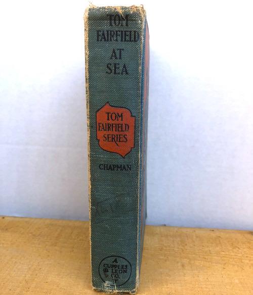 Tom Fairfield at sea 2