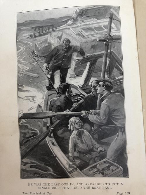 Tom Fairfield at Sea 8
