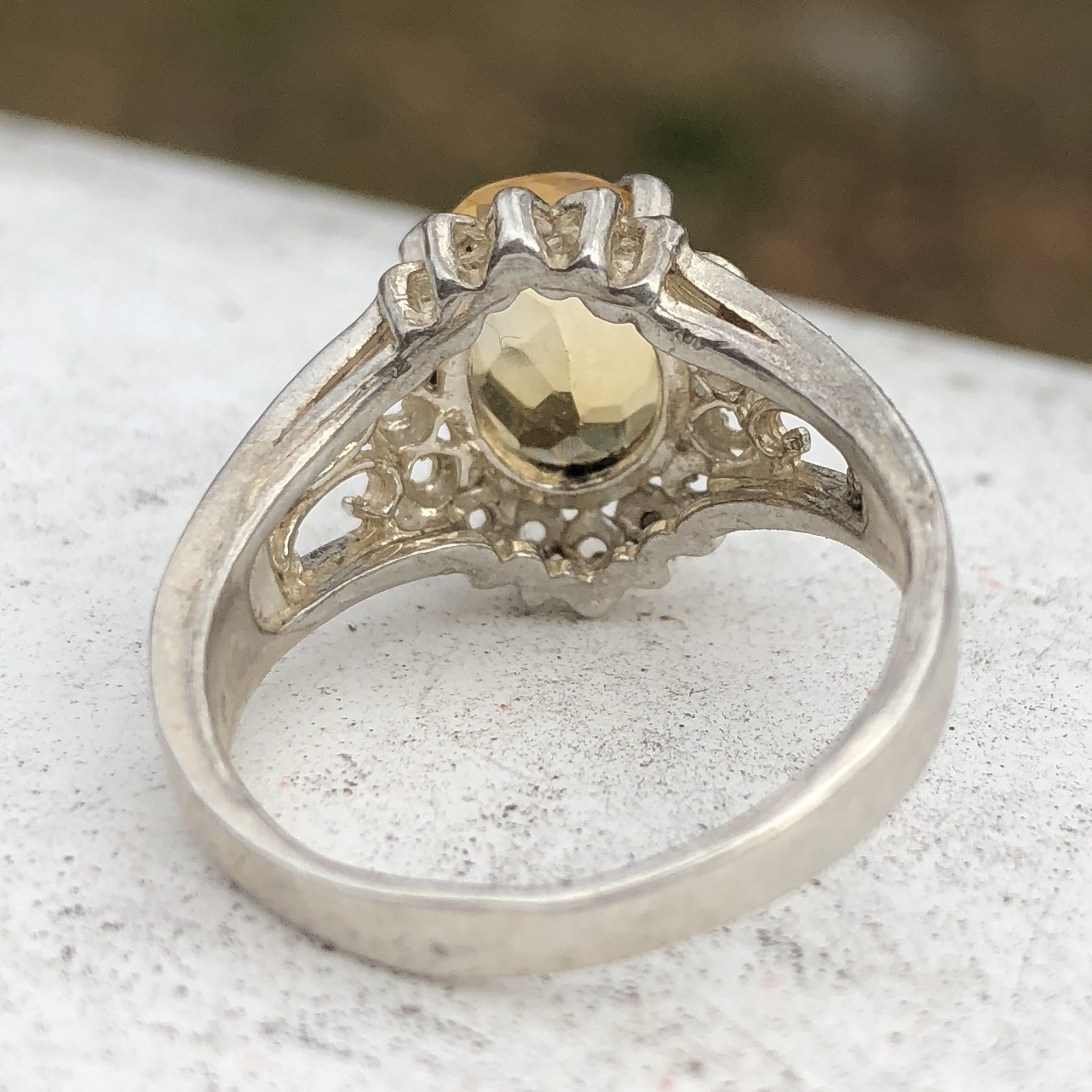 Yellow Topaz Back