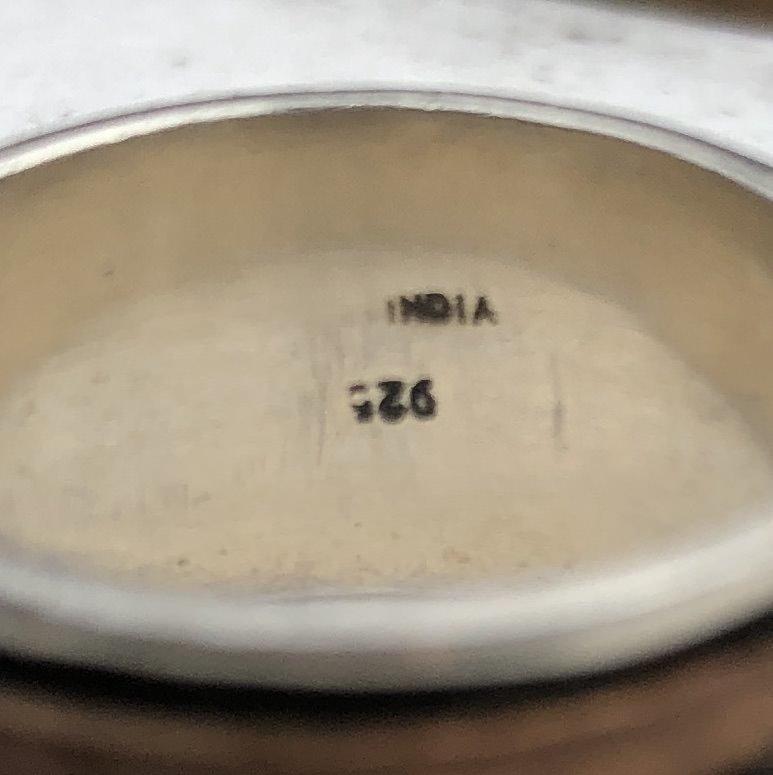 Multimetal band markings
