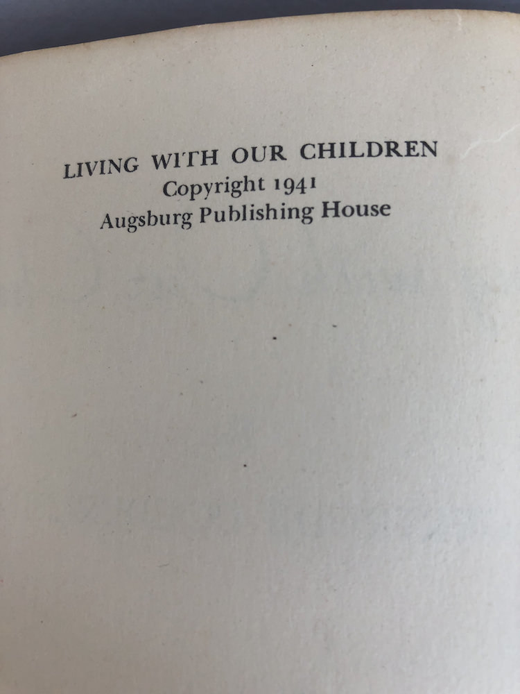 living with our children 8