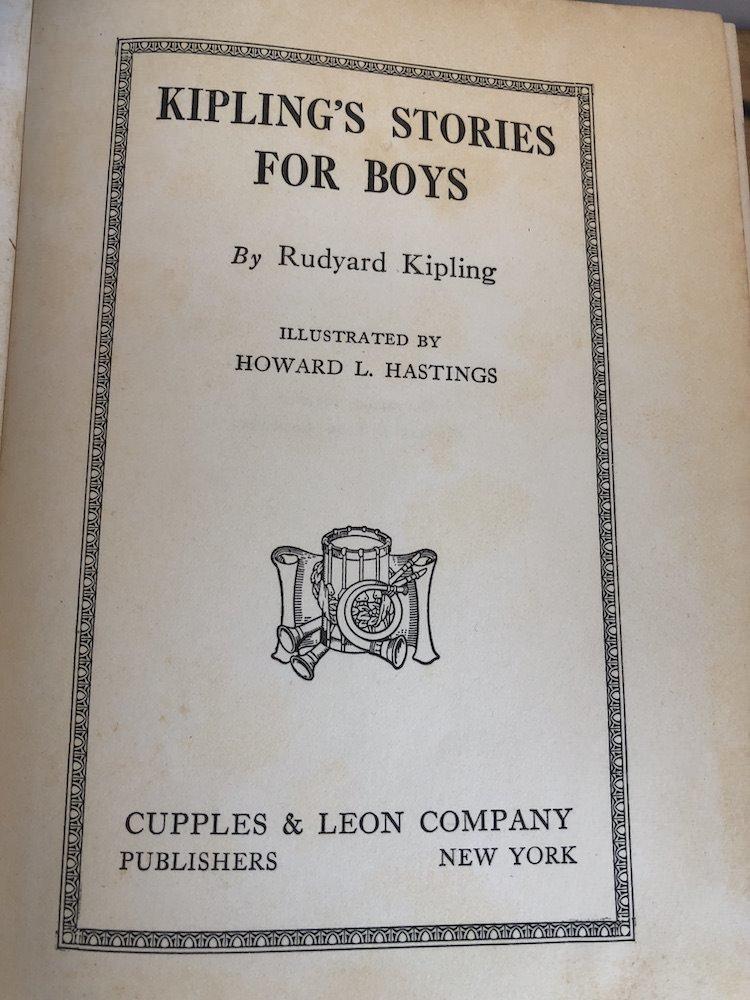 Kipling For BOys 6