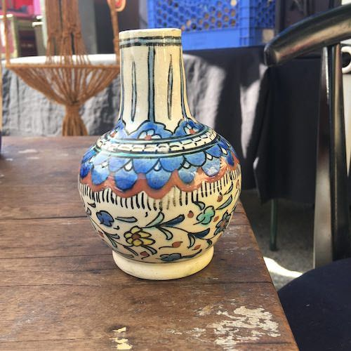 Small Bohemian Bud Vase