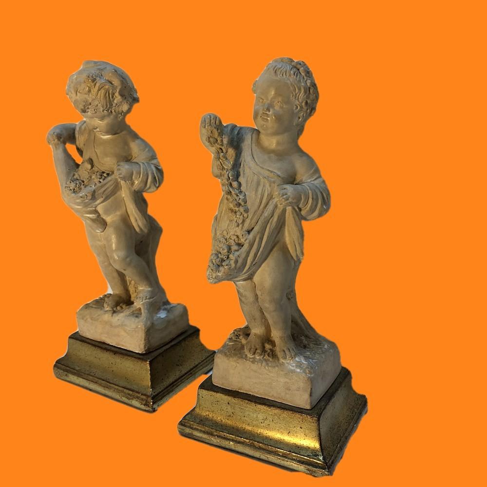 Borghese Putti Figures Pair