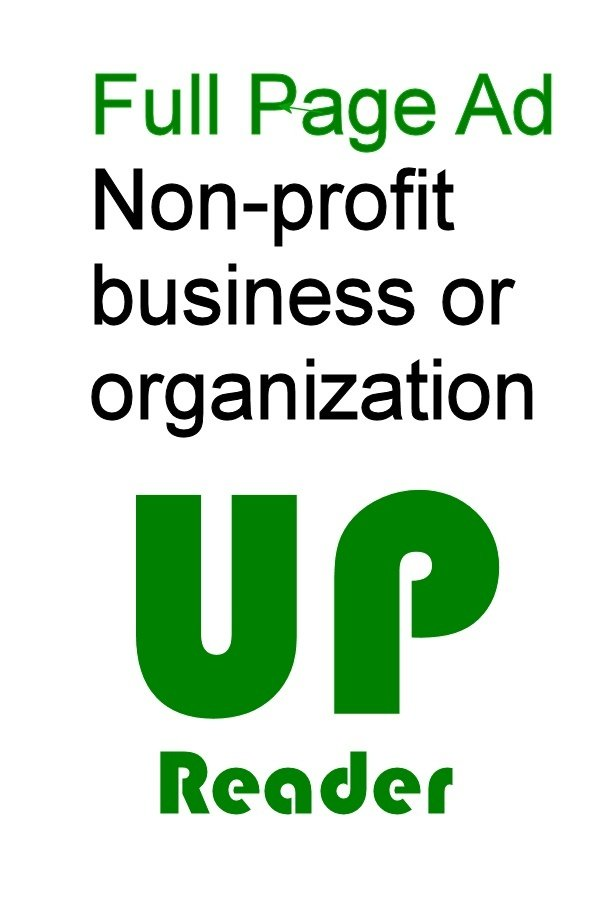 U.P. Reader Vol. 3 - Non-Profit Full Page