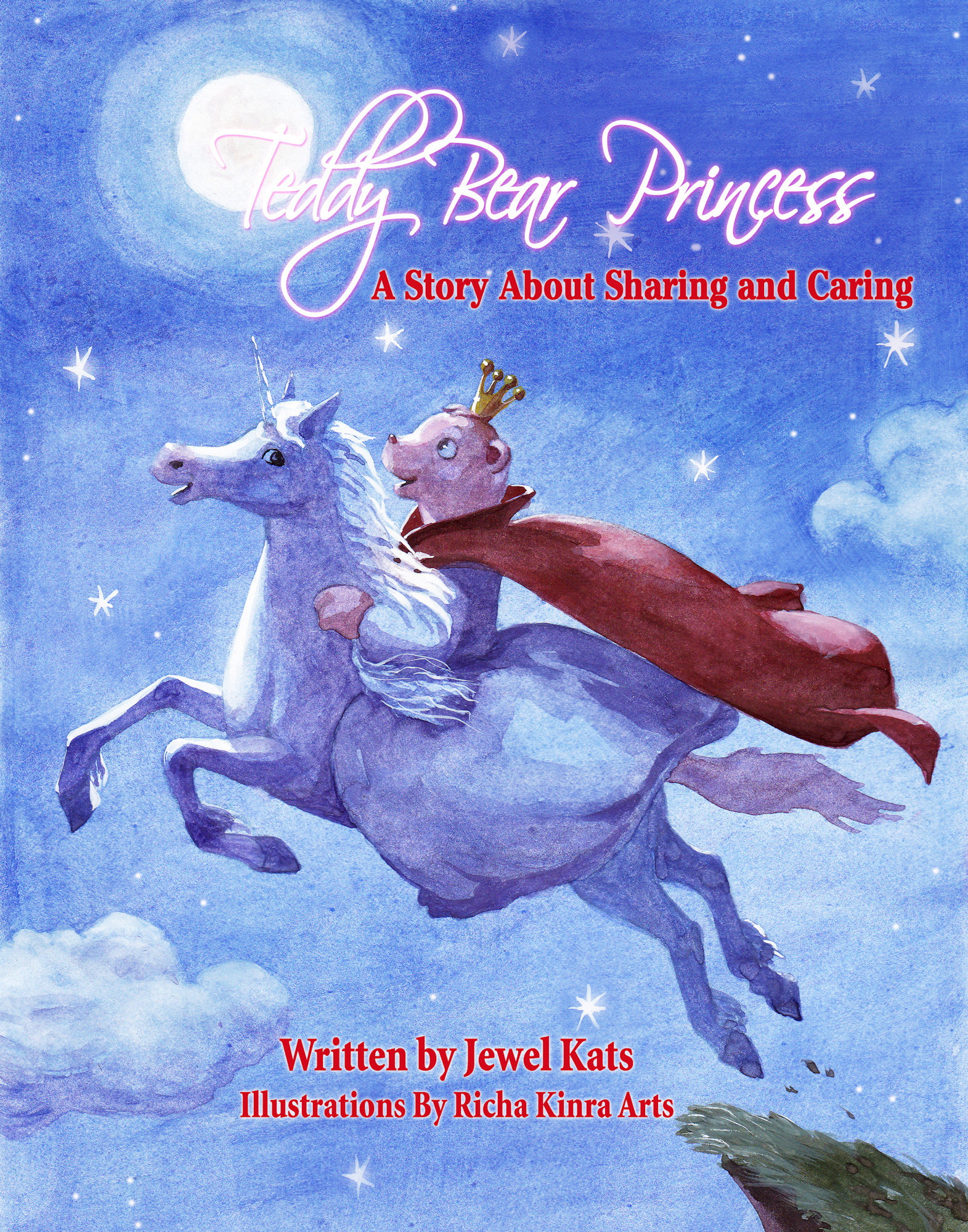 Teddy Bear Princess: A Story about Sharing and Caring 978-1-61599-163-1