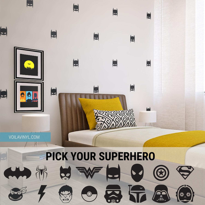 Superhero pattern 3004