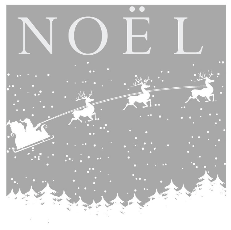 Noel - decal only