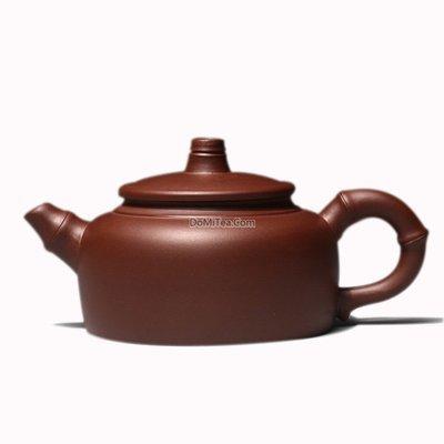 Yixing Clay Bamboo Teapot - 250ml