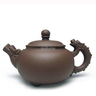 Yixing Clay Dragon Head Teapot - 130ml