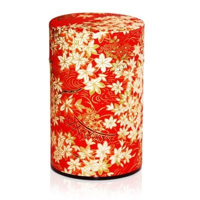 Japanese Red Tea Canister (Maple - 150g)