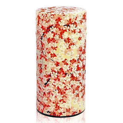 ​Sakura Tea Canister (Red - 200g)