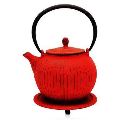 Cast Iron Teapot Anyang Red 800ml