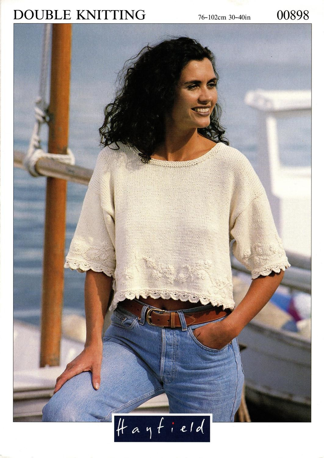 Hayfield Knitting Pattern Booklet No.00898