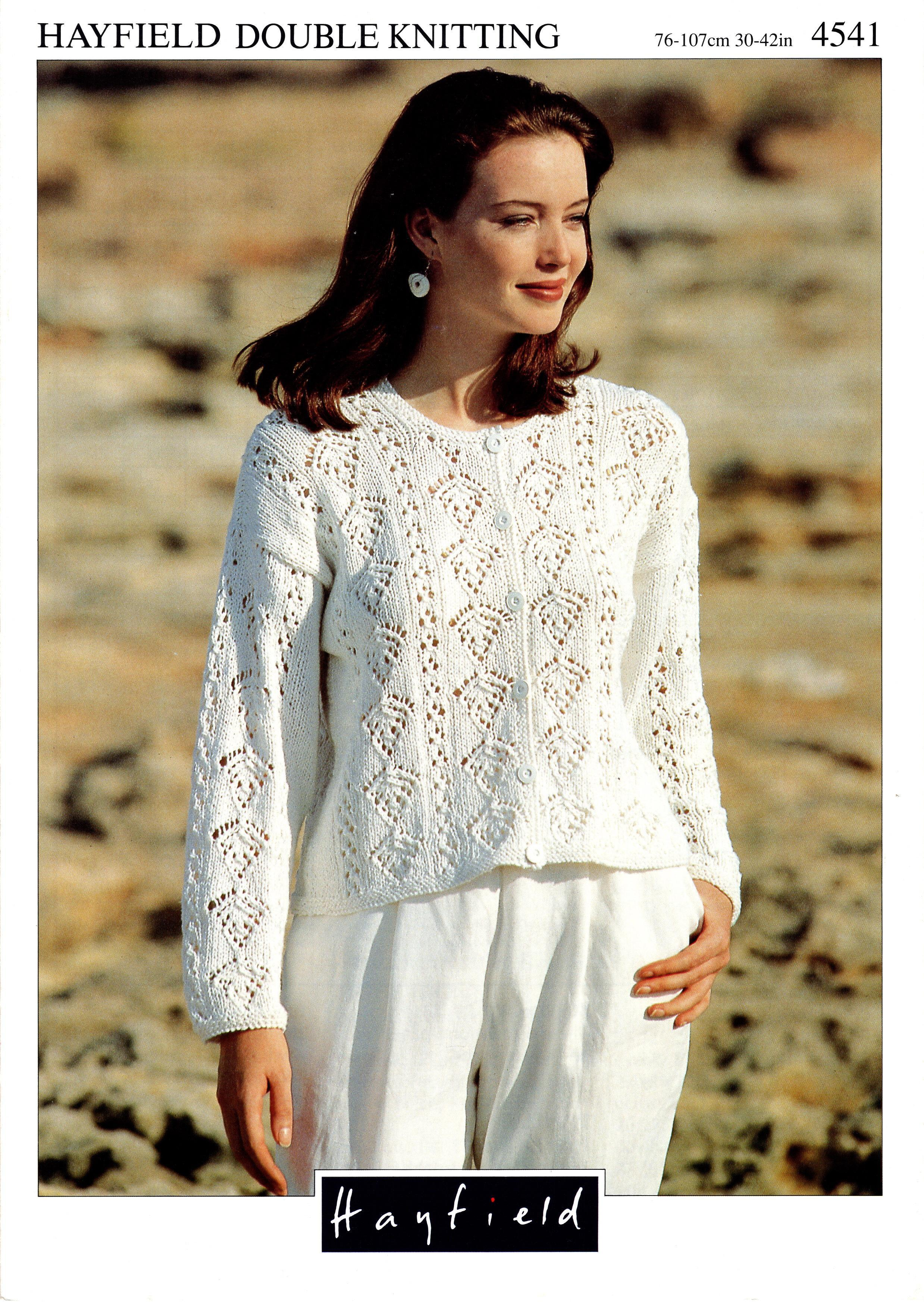 Hayfield Knitting Pattern Booklet No.4541 00029