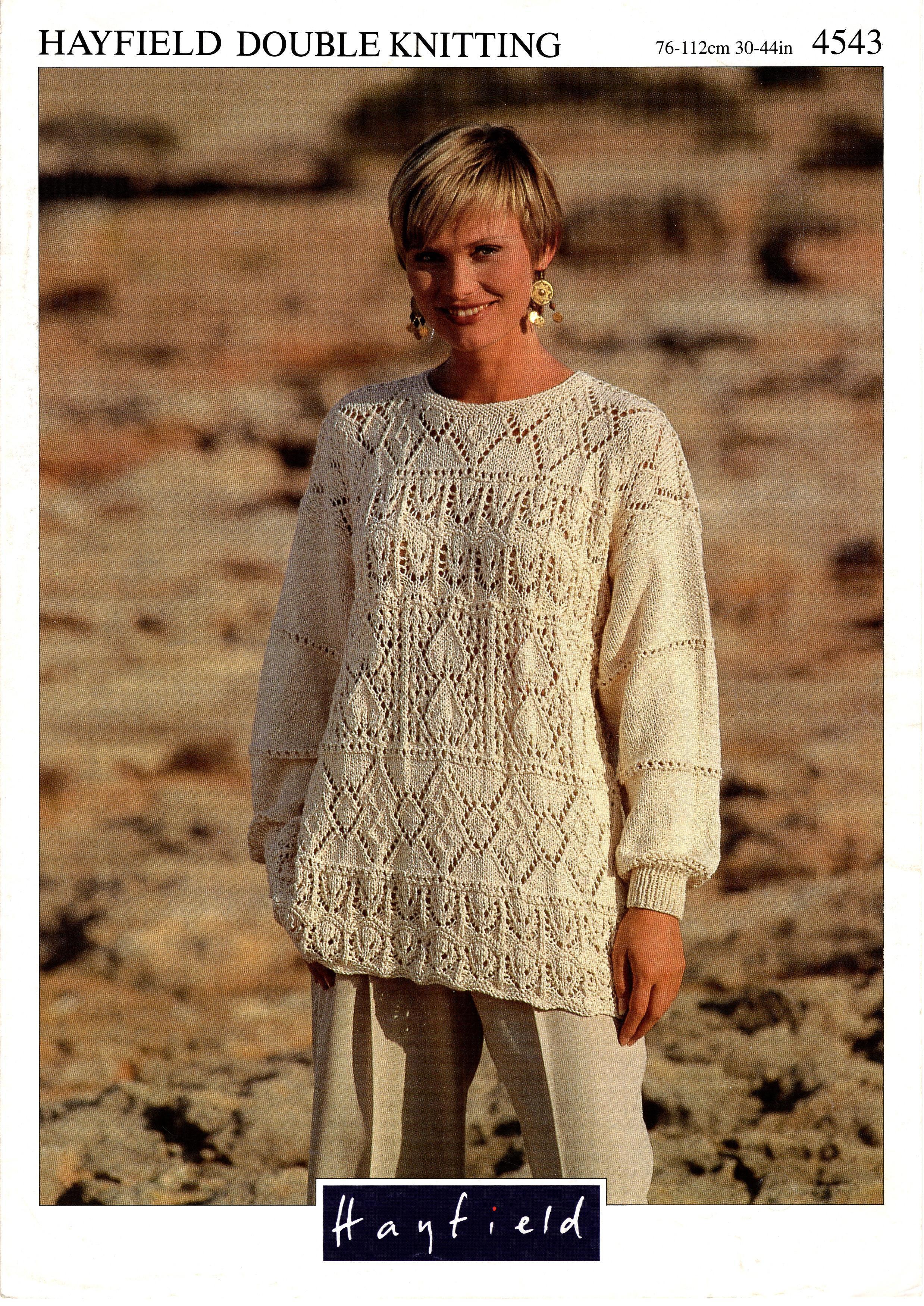 Hayfield Knitting Pattern Booklet No.4543 00028
