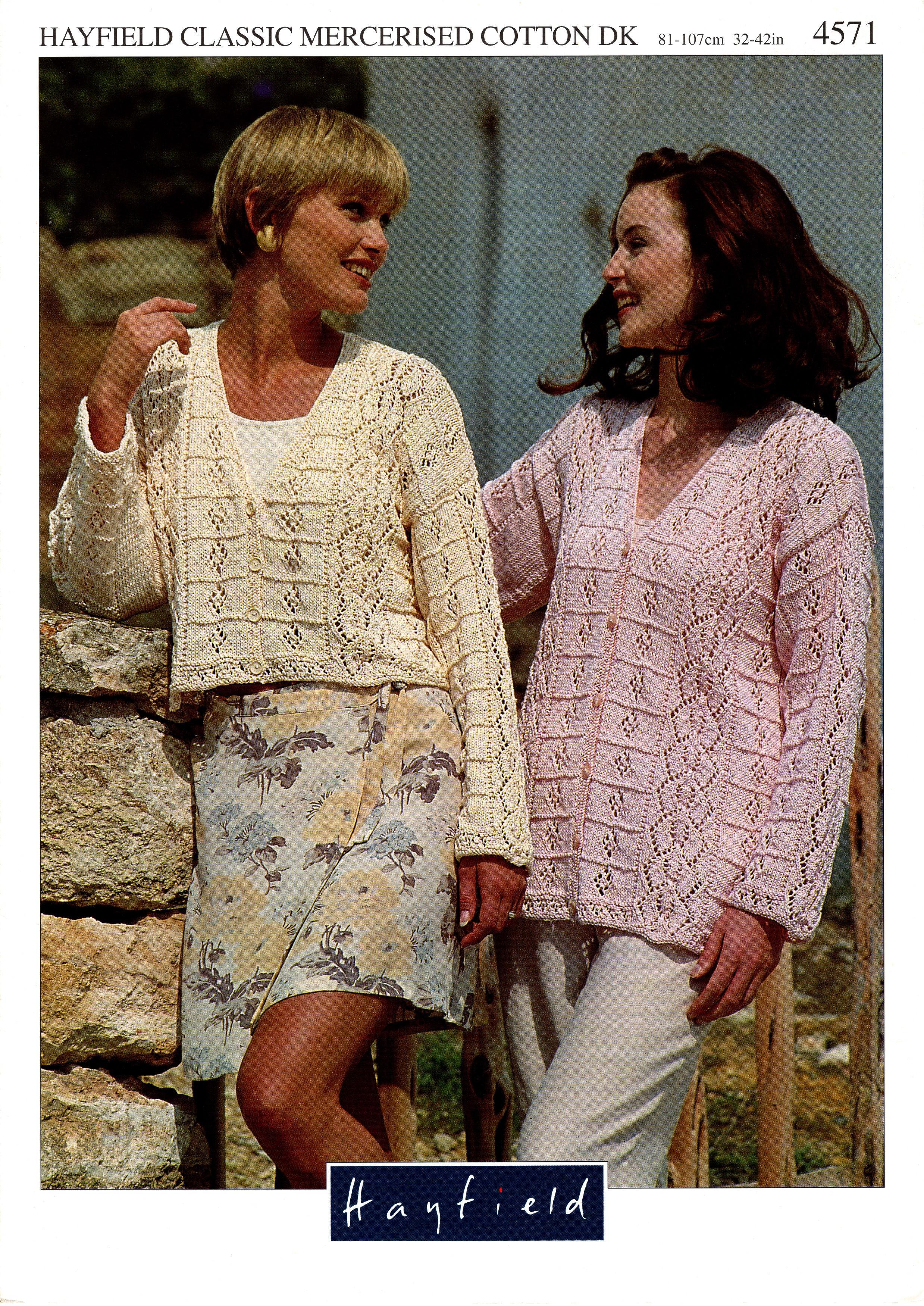 Hayfield Knitting Pattern Booklet No.4571 00030