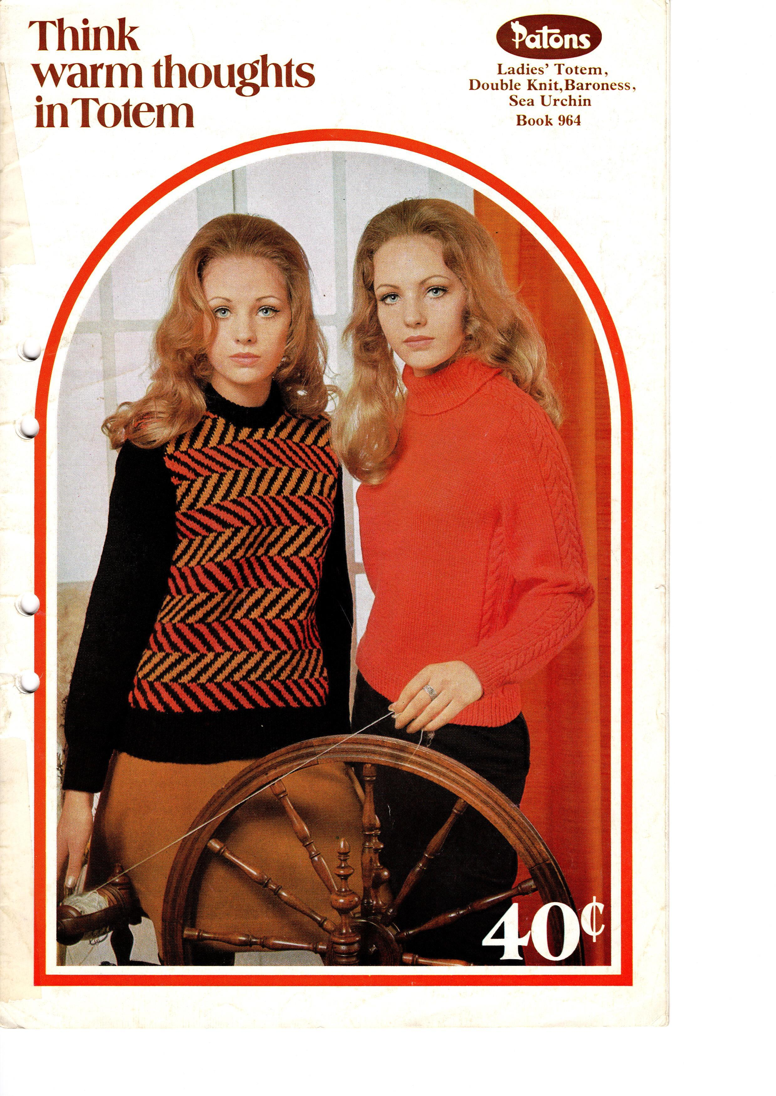 Patons Knitting Pattern Booklet No.964 00035