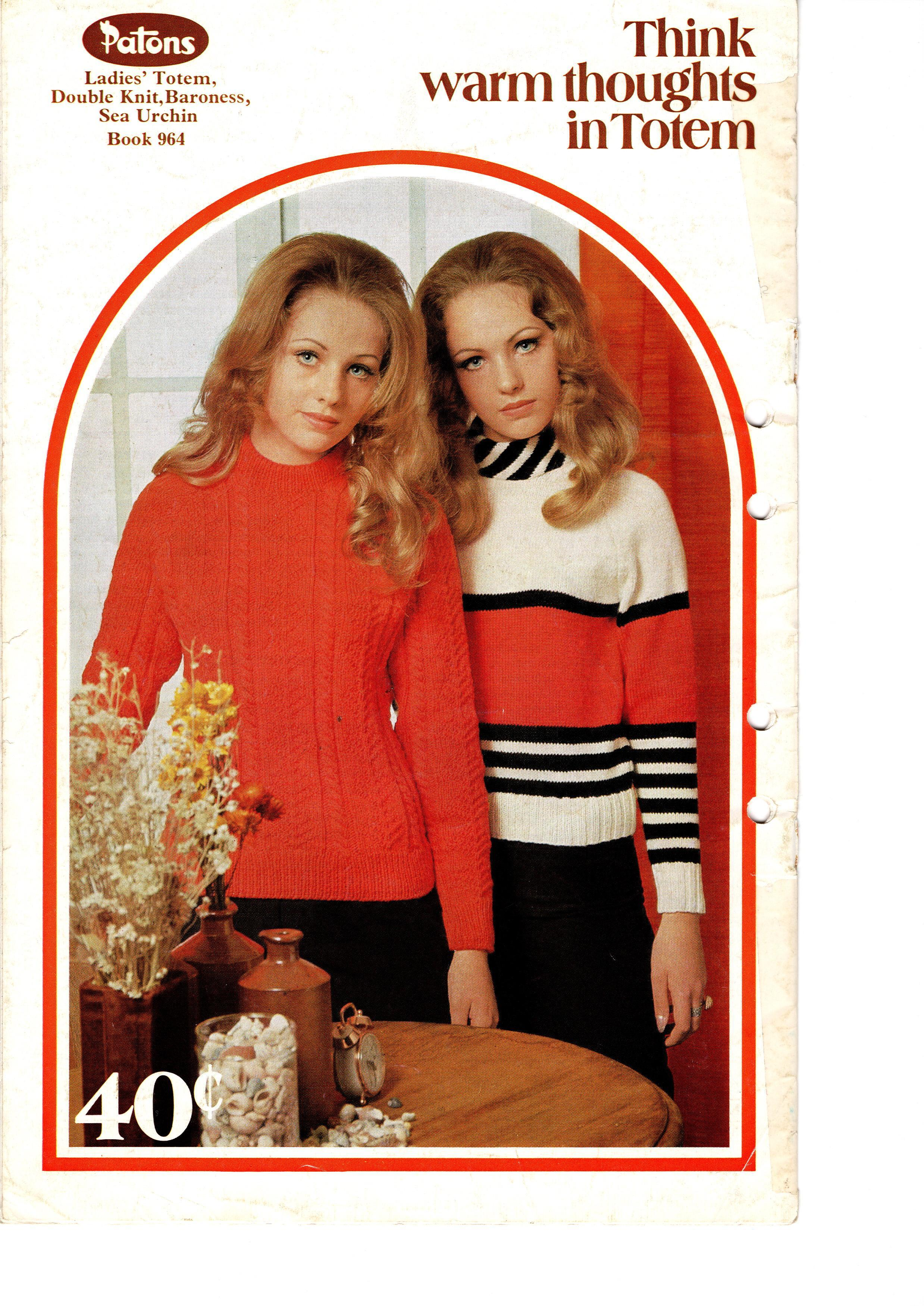 Patons Knitting Pattern Booklet No.964