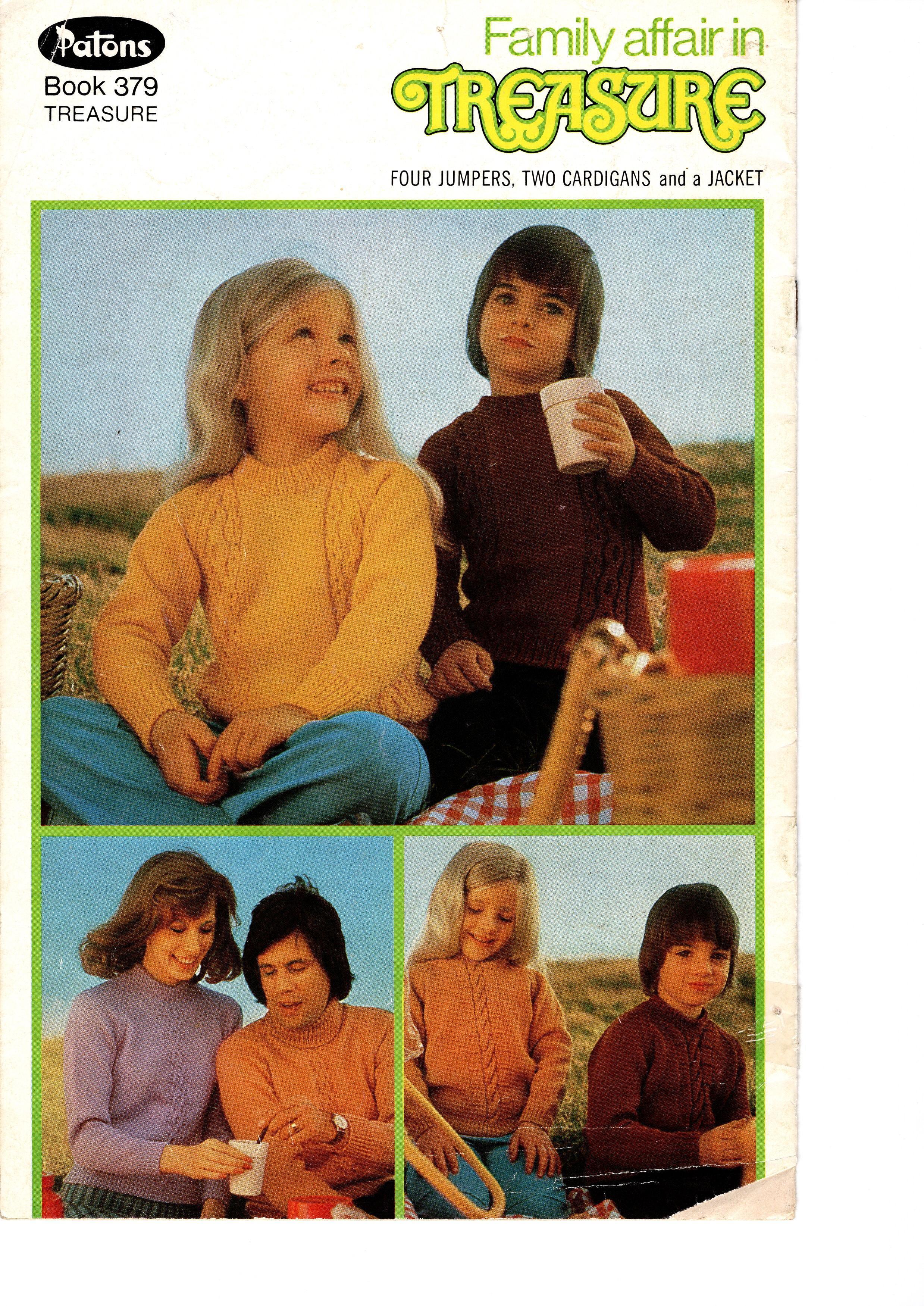 Patons Treasure Knitting Pattern Booklet No.379 00032