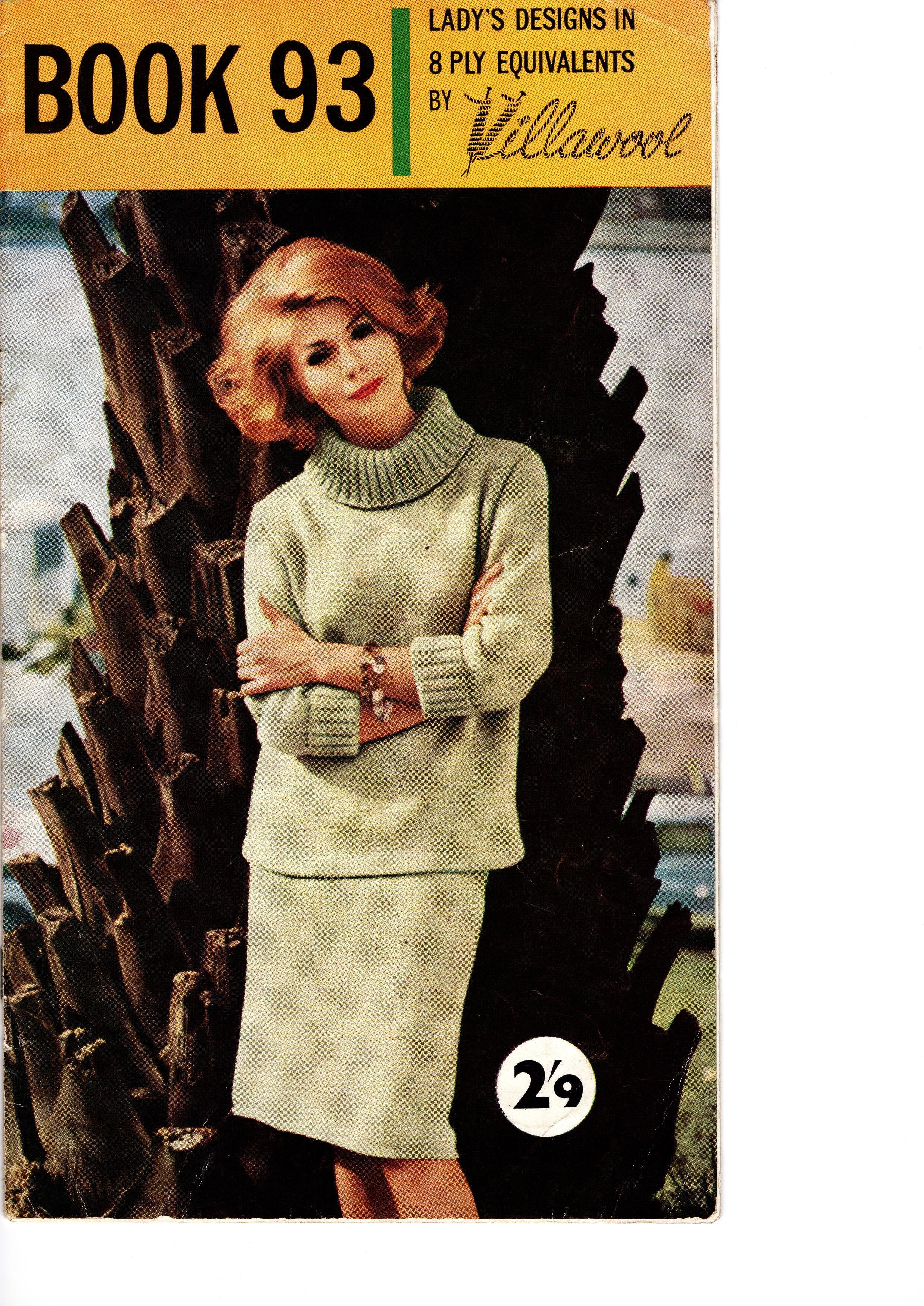 Villawool Knitting Pattern Booklet No.93 00033