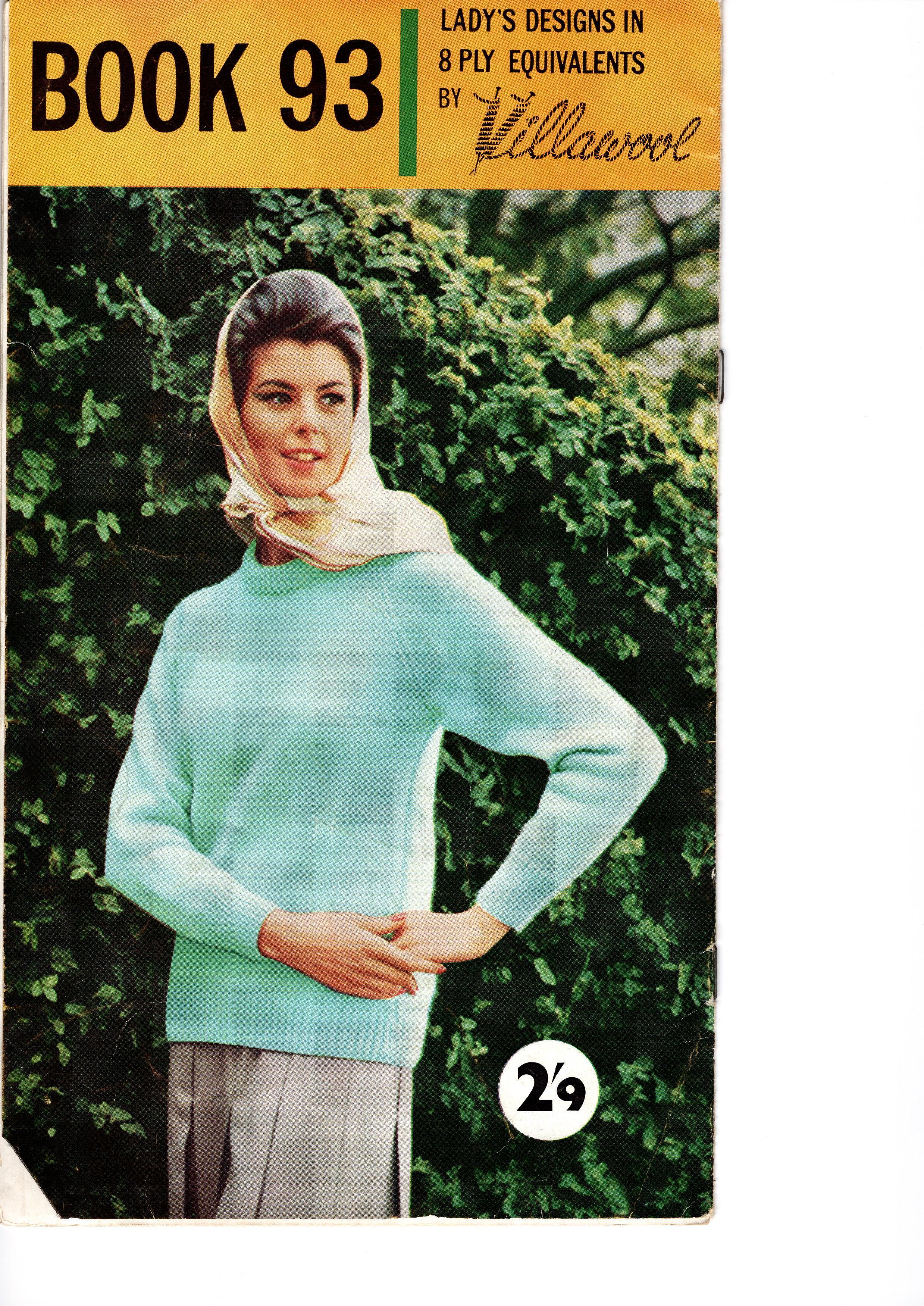 Villawool Knitting Pattern Booklet No.93