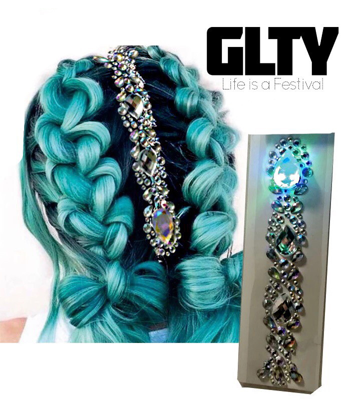 LED Hair Jewel Sammy