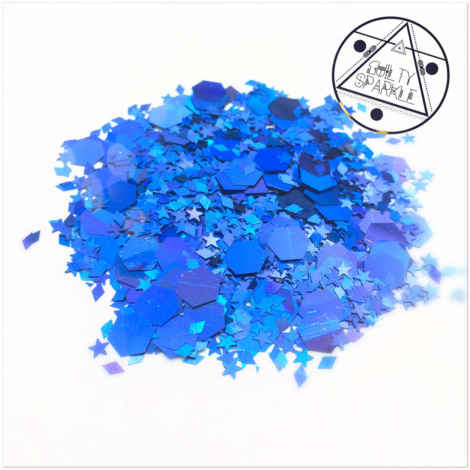 Blue Eye glitter mix 3,5gr.