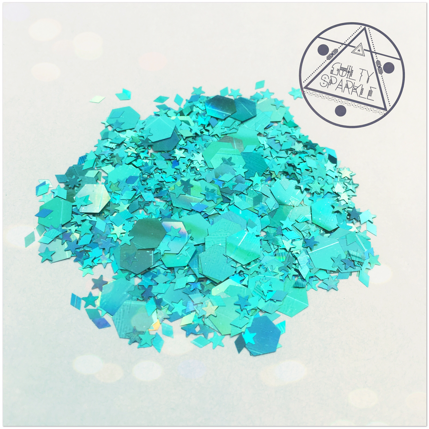 Green Mermaid glitter mix 3,5gr.