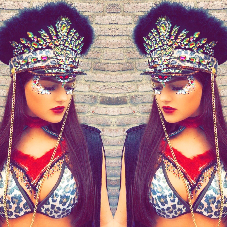 Moksi Hat Leopard