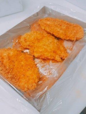 Kipfilet burger pikant, 10 stuks