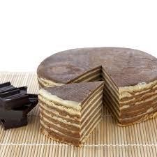 Spekkoek chocolade, 600gr.