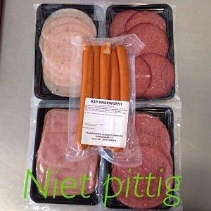 (Voordeel pakket) Niet pikante vleeswaren