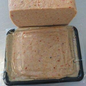Kabeljauw/kipfilet gehakt met peper