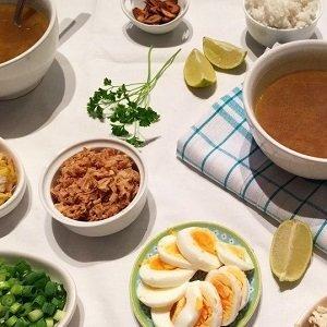 Saoto soep (Groot), 1ltr.