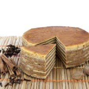 Spekkoek Naturel, 140gr.