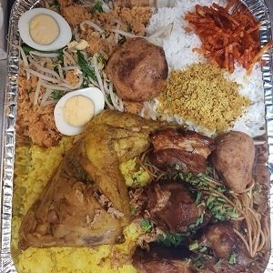 (AKTIE PRIJS!!) Berkat rijsttafel compleet, 4 pers.