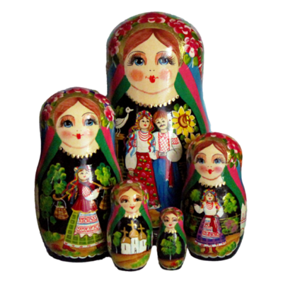 Fairy Tale Nesting Doll