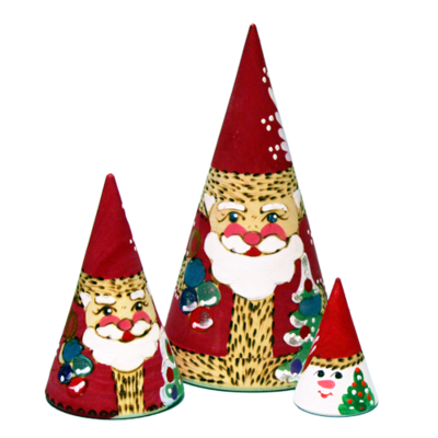 Father Frost (nesting cones)