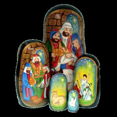 Nativity Nesting Doll