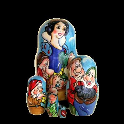 Snow White Nesting Doll