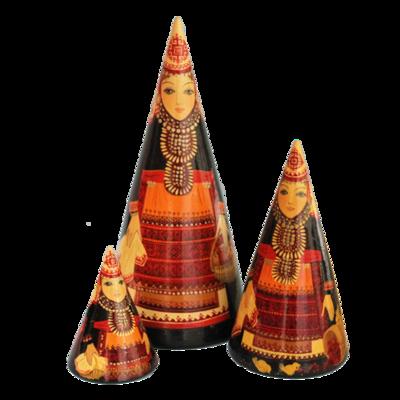 Vintage Nesting Cones