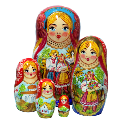 Ukrainian Folk Nesting
