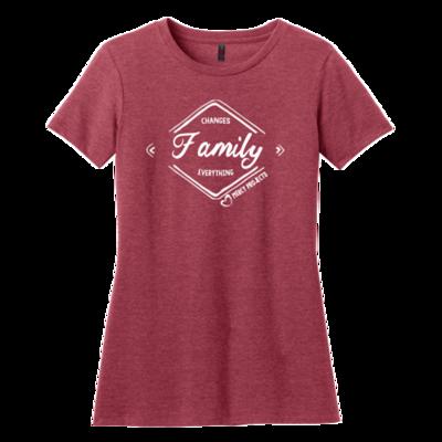 Women's FAMILY T - Red