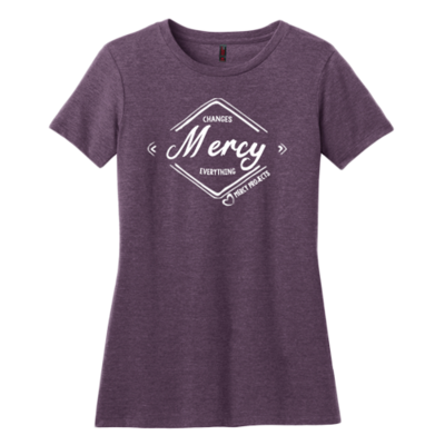 Women's MERCY T - Purple