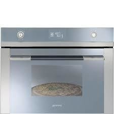 Horno pirolitico 45 cm, base pizza, Color Silver Glass, SFP4120PZ